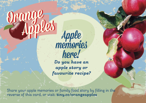 Orange Apples -Apple Memories